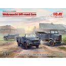 1:35 ICM Wehrmacht Off-road Cars (Kfz1,Horch 108 Typ 40,...