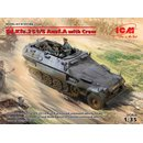 1:35 ICM Sd.Kfz.251/6 Ausf.A with Crew, Limited