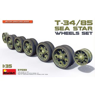 1:35 Mini Art T-34/85 Sea Star Wheels Set