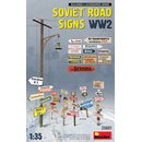 1:35 Mini Art Soviet Road Signs WW2