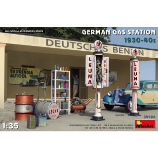 1:35 Mini Art German Gas Station 1930-40s