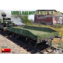 1:35 Mini Art Soviet Railway Flatbed 16,5-18 t