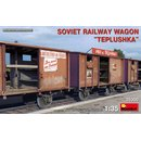 1:35 Mini Art Soviet Railway Wagon Teplushka