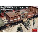 1:35 Mini Art Railway Gondola 16,5-18 t