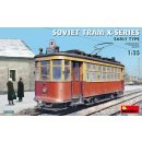 1:35 Mini Art Soviet Tram X-Series. Early Type.
