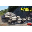 1:35 Mini Art Ukrainian BMR-1 w/KMT-9