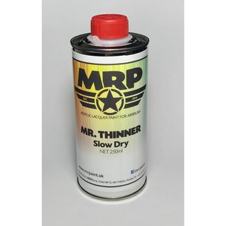 MRP-TSD  Mr.Thinner Slow Dry 250ml