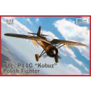 1/72 IBG models PZL P.11g Kobuz Polish Fighter