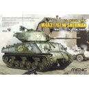 1/35 Meng Model US Medium Tank M4a3 (76) W