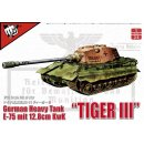 1/35 Modelcollect E-75 with 12,8cm L55 TIGER III