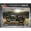 1/35 Thunder Models U.S. Military Motorcycle Indian 741B...