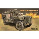 1/35 Meng Model MB Military Vehicle WASP Flamethrower