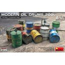 1/35 Mini Art FUEL & OIL DRUMS Modern Box contains 12...