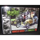 1/25 AMT Double Combo Kit THE MUNSTERS in Metal Box