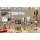 1/35 Mini Art Road Sign WW2 North Africa