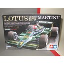 1/20 Tamiya Lotus Type 79 MARTINI from 1979 + Tabu Decals...