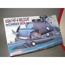 1/72 Dragon F4F-4 Wildcat with Carrier Deck and Folding...
