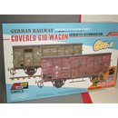 1/35 SBS Model German Railway Covered G10 Wagon 6in1...