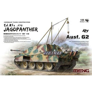 1/35 Meng Model Jagdpanther Ausf.G2 Sd.Kfz.173 with crane and engine