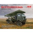 1/35 ICM BM-13-16 on W.O.T 8 Chassis