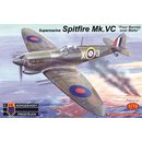 1/72 KP model Spitfire Mk.VC Four Barrels over Malta