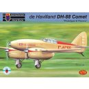 1/72 KP model de Havilland DH-88 Comet Prototype & Racers