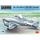 1/72 KP model de Havilland DH-88 Comet in RAF and Foreign...