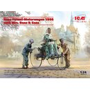 1/24 ICM Benz Patent-Motorwagen 1886 with Mrs. Benz & Sons