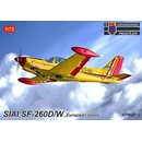 1/72 KP model SIAI SF-260D/W Europe users