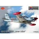 1/72 KP model SIAI SF-260D over USA