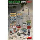 1/35 Mini Art Road Signs WWII Italy