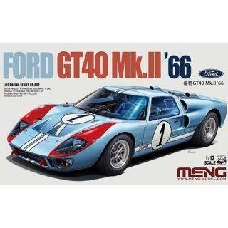 1/12 Meng Model Ford GT40 Mk.II 1966