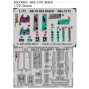 1:72 Eduard Space Mikoyan MiG-21PF SPACE-3D Decals (for...