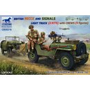 1/35 Bronco Models British Recce and Signals Light Truck...
