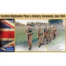 1/35 Gecko Models Scottish Highlander Piper & Infantrie...