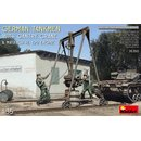 1/35 Mini Art German Tankmen with Gantry Crane & Maybach...
