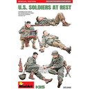 1:35 Mini Art U.S. Soldiers at Rest. Special Edition