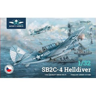 1/32 Infinity Models Curtiss SB2C-4 Helldiver
