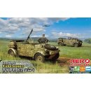 1/35 Hero Hobby Kits Kubelwagen TYPE 82 (2 in 1 + MG.34...