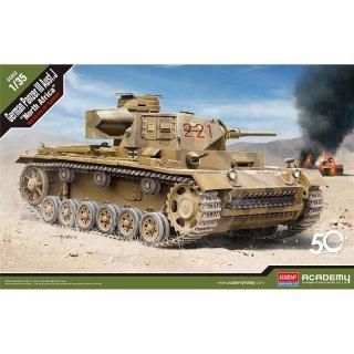 "1/35 Academy German Panzer III Ausf.J ""North Africa"""