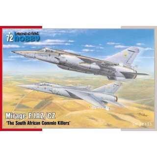 1/72 Special Hobby Mirage F.1AZ/CZ 'The South African Commie Killers'