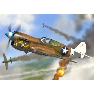 1/72 AZ Model P-40E Warhawk 49.th FG