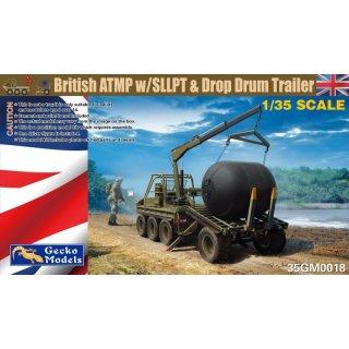 1/35 Gecko Models British ATMP w/SLLPT & Drop Drum Trailer