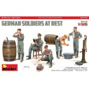 1/35 Mini Art German soldiers at rest. Special edition