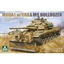 1/35 Takom M60A1 with ERA & M9 Bulldozer