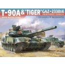 1/48 SuyataT-90A & Tiger GAZ-233014
